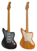 GUITARRA ELECTRICA JAZZMASTER VINTAGE - Color NATURAL STAGG