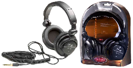 DELUXE STEREO HEADPHONES STAGG