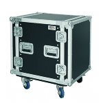Flight cases CR212 BLKM Wheels