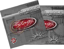 Encordado. Guit. Clasica - silver plated wound - Tension Normal STAGG
