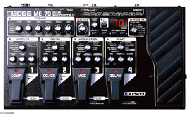 Pedalera Boss Me-70 Multiefecto