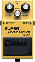 Pedal Boss Sd-1 Super Overdrive Para Guitarra