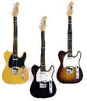 GUITARRA ELECTRICA TIPO TELECASTER 1 MIC STYLE NECK PU + 1 SINGLE COIL Color NEGRO STAGG