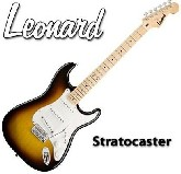 Guitarra electrica STRATOTOCASTER 3 Mic Single -  Palanca - Color SUNBURST