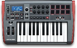 Novation Impulse 25 Controlador Midi Usb