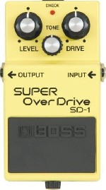 Pedal Boss Sd1 Super Overdrive