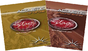 Encordado Guit. Acustica - Bronze - 10-48 STAGG