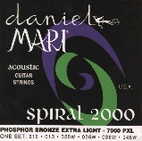 Encordado SPIRAL 2000 Phospor Bronze  010-048 DAMARI