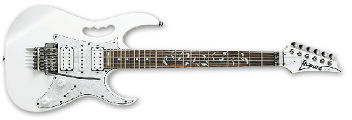 Guitarra electrica Ibanez JEM-555-WH