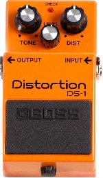BOSS PEDAL DE EFECTO PARA GUITARRA y TECLADO DISTORTION DS-1