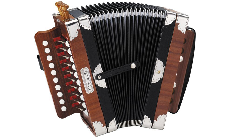 Hohner 3002 Ariette Folk-Cajun Accordion
