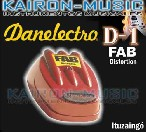 FAB - DISTORTION (ROJO) DANELECTRO
